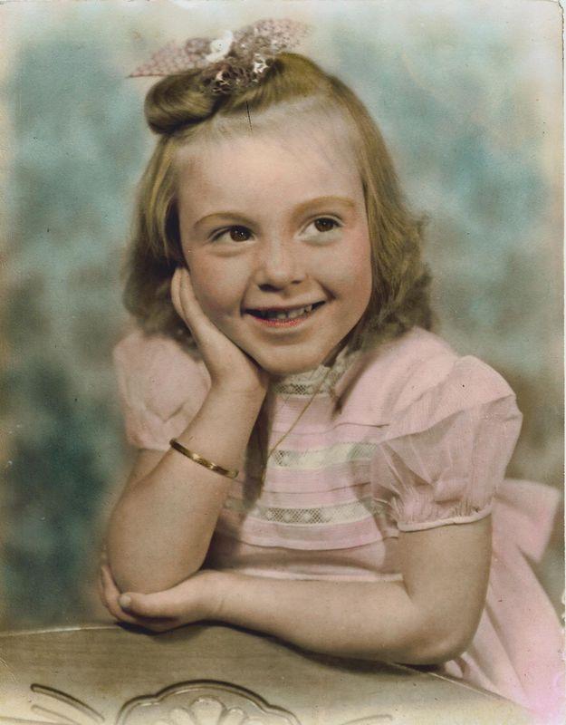 1942 Carole @ 4 yrs.