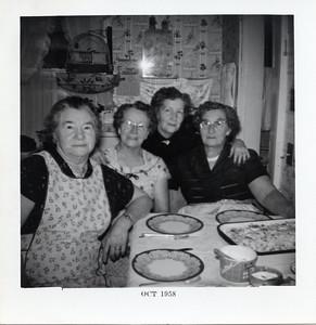 Grandma aunt Hazel and aunt May