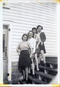 Aunt Julia, aunt Lil and aunt Donna