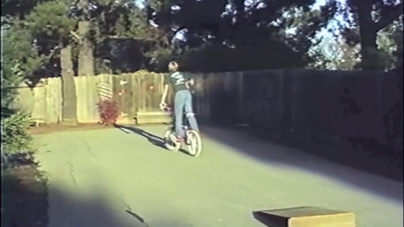 1986 Trick Rider 1 - The first short video of Michael on his bikes. Coming soon more bike, motorcycle and Christmas videos.
