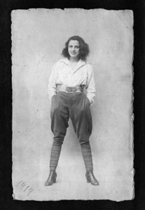 # 2 - Valerie Benesi in 1919 at age 19.