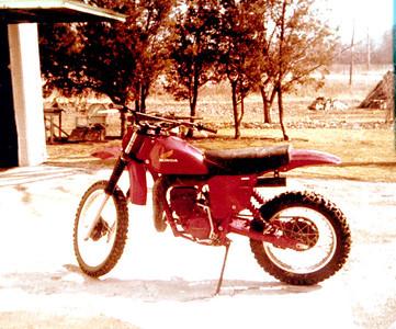 Norm's bike