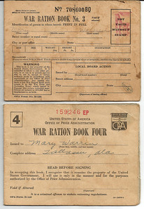 war ration mary book