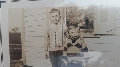 Uncle Kermit and Dad (Harold Henninger)