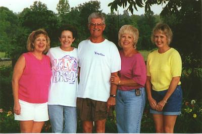 L to R: Sheilia, Carolyn, Monroe, Jr., Rita, and Rhonda