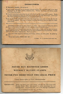 war ration george book reverse