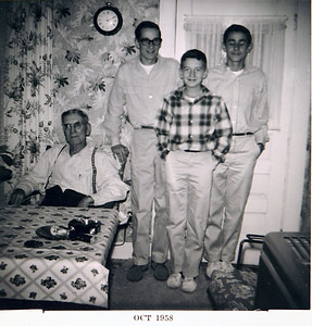 Uncle Butch, Danny, Edwin, and Burly