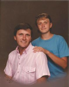 Raymond & Chad 9-1989