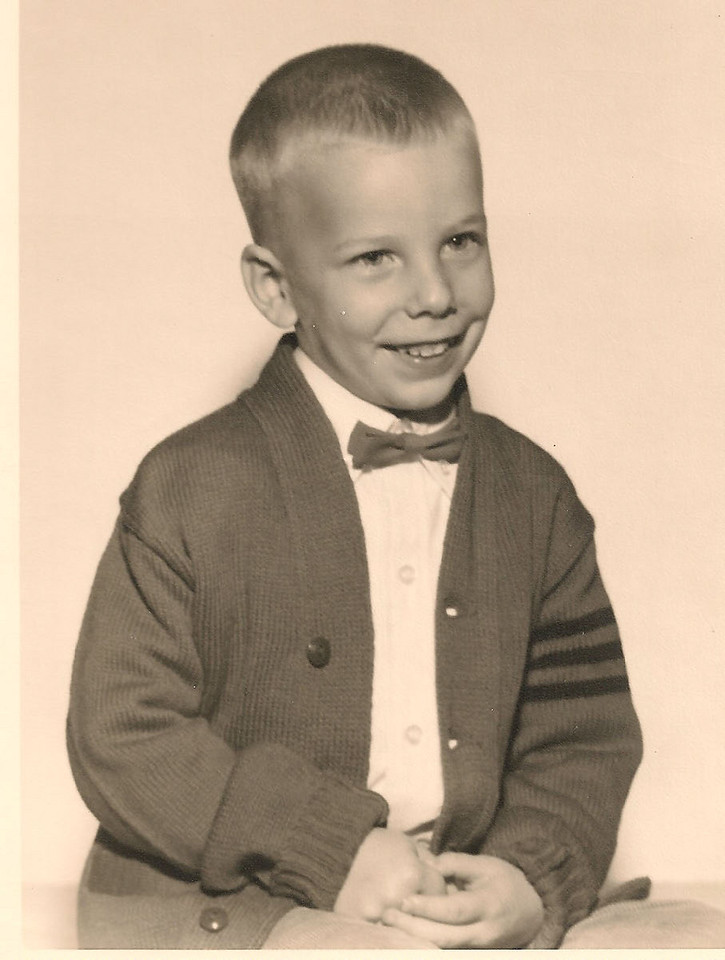 Hal Henninger Jr 4 or 5 years old