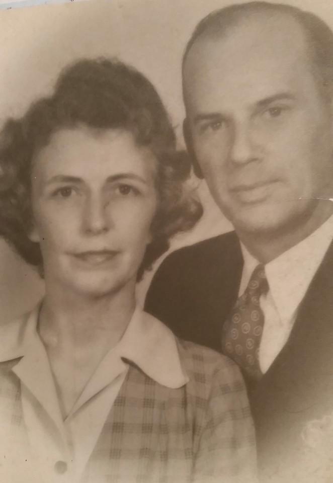 (Arthur Worley and Stella Walden Ash ) Mama Dear and Big Daddy