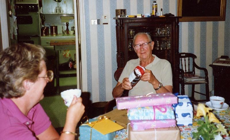 Jim Lee's 80th Birthday - 1986