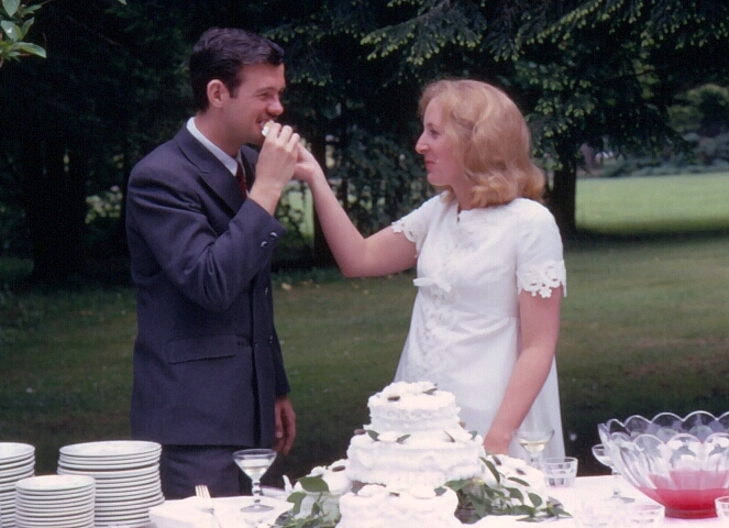 John and Pat's wedding. June 6, 1970