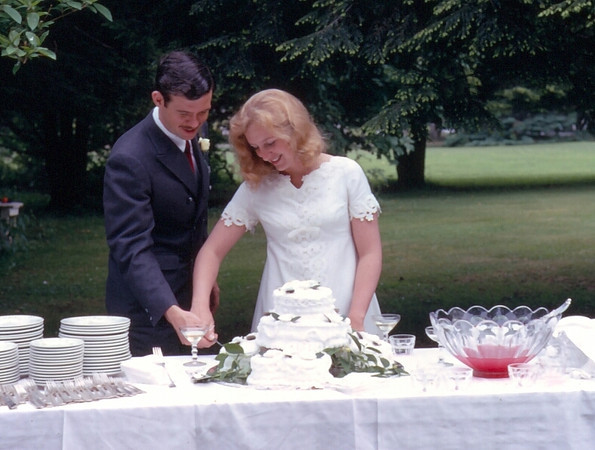 John and Pat's wedding. June 6, 1970