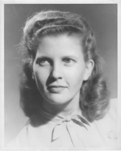 Mary Katherine Freeman, December 4, 1923 until October 3rd, 2013.