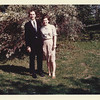 Mom and Dad.  Spring 1964.