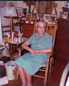 Sallie Bell Ballentine Warren, 1893 to 1973 (Adrian, Jr.'s grandmother on the Warren side)