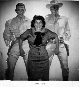 Aunt Julia with Tantoe & the Lone Ranger