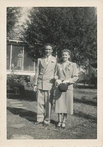 W. A Freeman and Mary Katherine Warren - Wedding Day - November 6, 1948