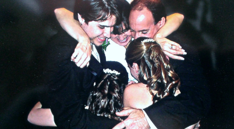 Post wedding ceremony. (this one isn't very old, but I love it.)