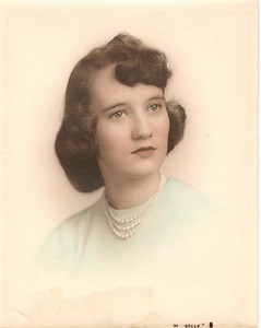 Joan C. Henry - High School photo