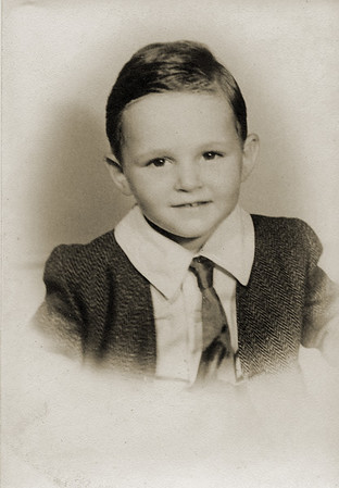 A very young Peter Press. Undated.