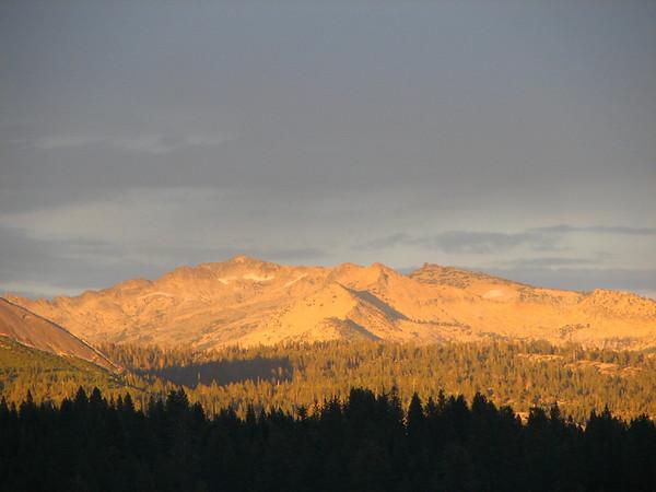 Yellowjacket Sunset