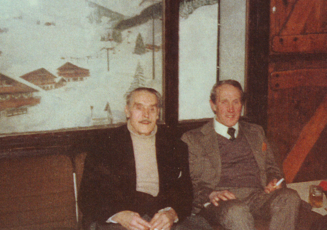 Uncle John & Peter Kavanagh (Chalet Swiss in South Croydon I think)