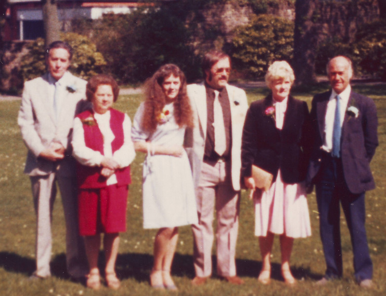 Uncle Dennis, Aunty Dorothy, Denise