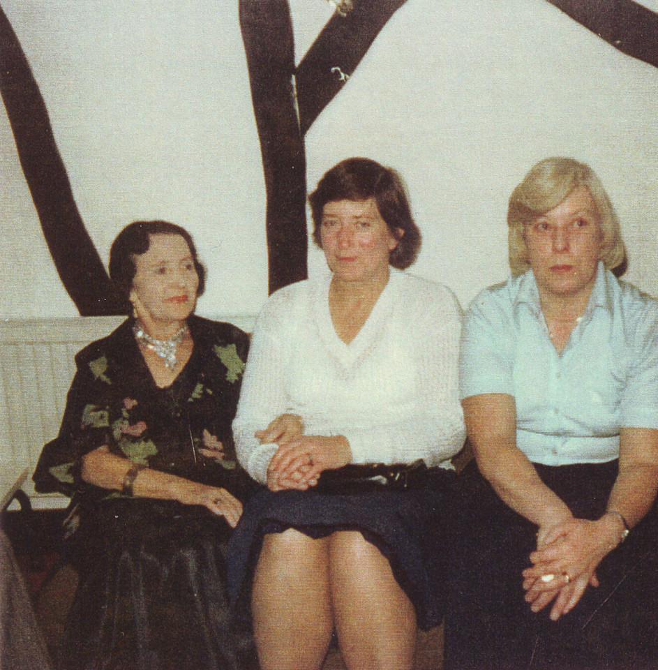 Aunty Alice, Daphne Kavanagh & Brenda Kavanagh (cousin John's wife)