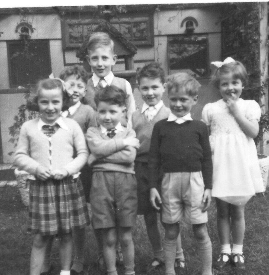 Peter Kavanagh Jnr 2nd left