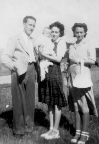 Peter Kavanagh, Teresa?, Mike Kavanagh & Phil Kavanagh