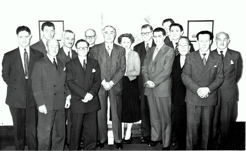 Peter Kavanagh, 2nd right