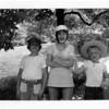 Greg, Debra, and Drew  -  June 1973
