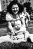 "Baby Pat with Mom and Vinny in ""Cherry Park"" Spring 1948?"