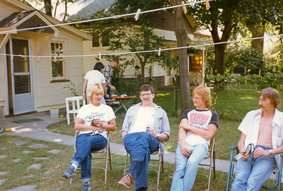 13 Old Nicol Photos - Dave Pam Dan Brian John