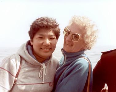 Carolyn & Aunt Mary June 1984 adj