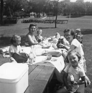 Cynthia, Grethen, Dann, Linda, Mary Van Dyke, Ilene, Pam 1954 adj