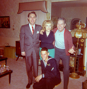 Old Nicol Photos 4038 - March 1965 Eddie Edie Ed Gory