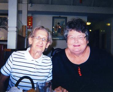 Old Nicol Photos 4030 - Mary & Carol (Bob's Wife)