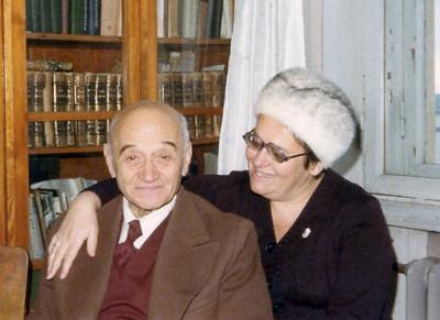 Moscow, 1979  Mussya and Natasha. .