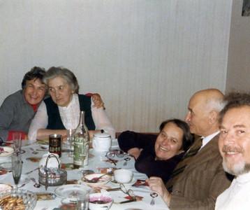 Moscow, 1979 Left to right: Dottie, Dubba, Natasha, Mussiya and Bob,