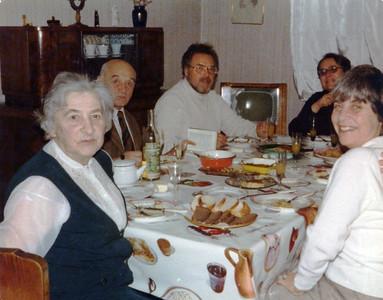 Moscow, 1979 Left to right: Dubba, Mussya, Bob, Natasha and Adely(?)