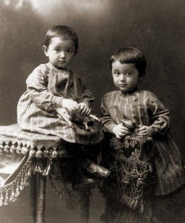 Boris and Musiya - the twins.