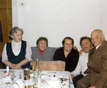 Moscow, 1979 Left to right: Dubba, Dottie, Natasha, Bob and Mussya.