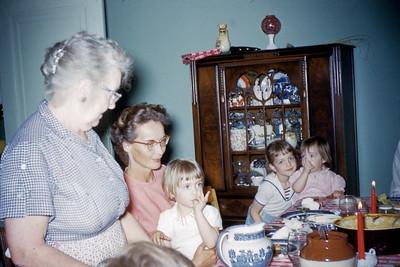 At Grandma and Grandpa Smith's house, Rochester, MI