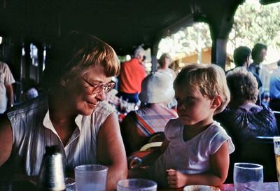 Mom and Ari -- 1980