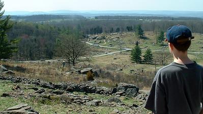 John at Gettysburg - 2003