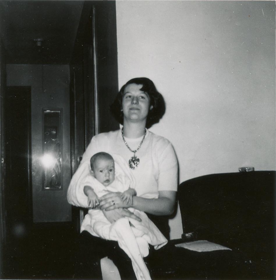 Merideth and Ronny 1953.
