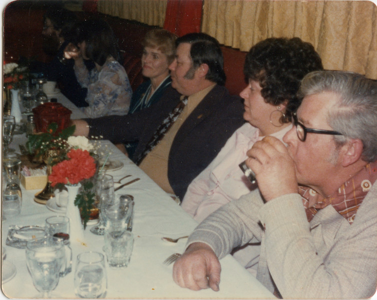 Leroy and Merideth Todd, George and Vi VanHorn, Feb 21, 1976,