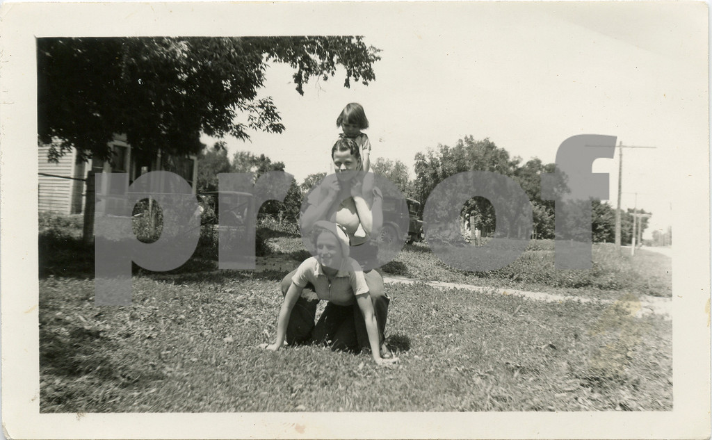 Doris, Joyce and Madlyn.